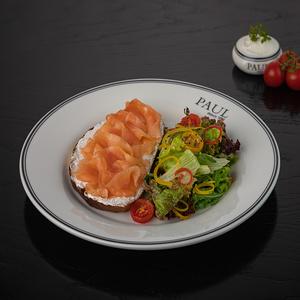 Тартин с лососем
