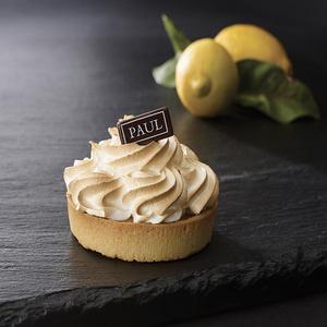 Тарталетка лимонная с меренгой