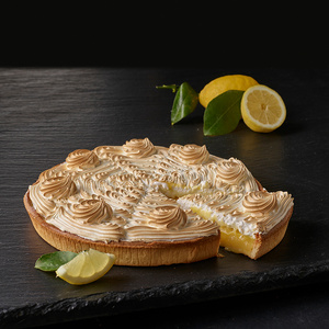 Пирог лимонно-меренговый