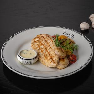 Куриная грудка с овощами гриль