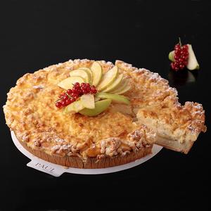 Пирог яблочно-ванильный