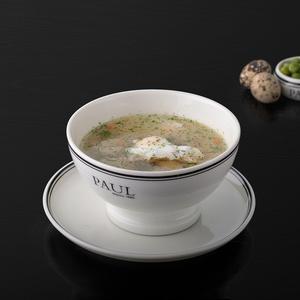 Куриный суп с молодым горошком